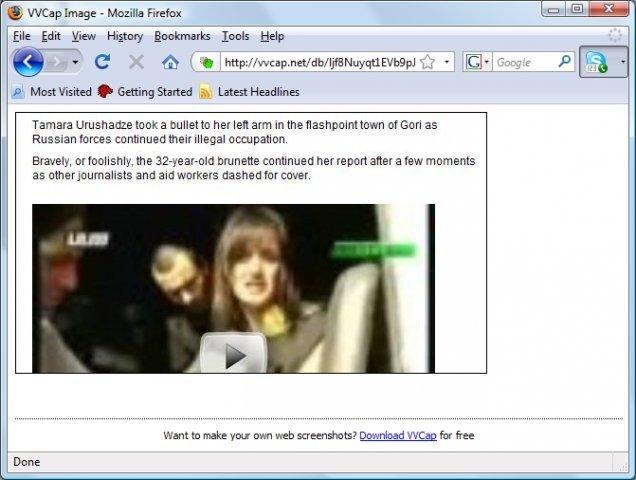 VVCap Screenshot Grab and Upload Tool