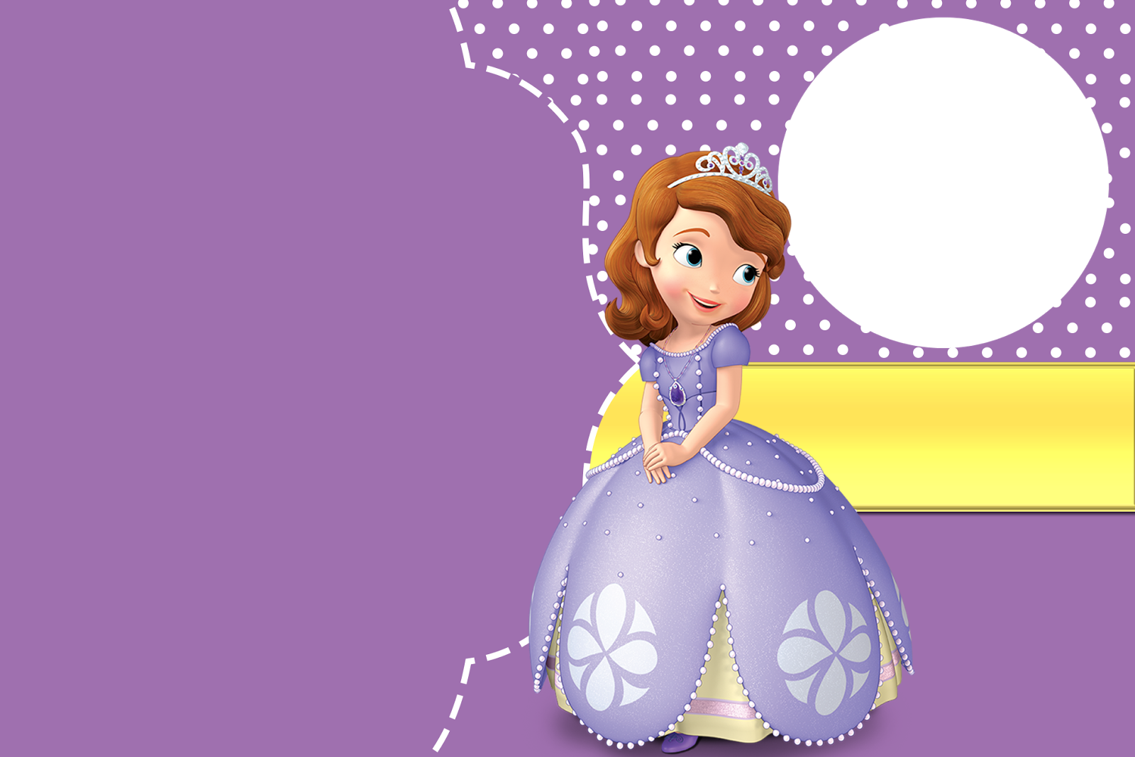 sofia the first free printable invitations