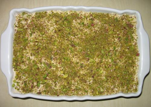 ricetta tiramisù al pistacchio