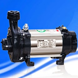 Silver Single Phase Open Well Pump M-28 (0.5HP) (Copper Rotor) Online Dealers, India - Pumpkart.com