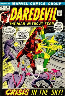 Daredevil #89, Electro, Killgrave the Purple Man