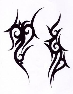 prince tattoo tribal vertical. Black Bedroom Furniture Sets. Home Design Ideas