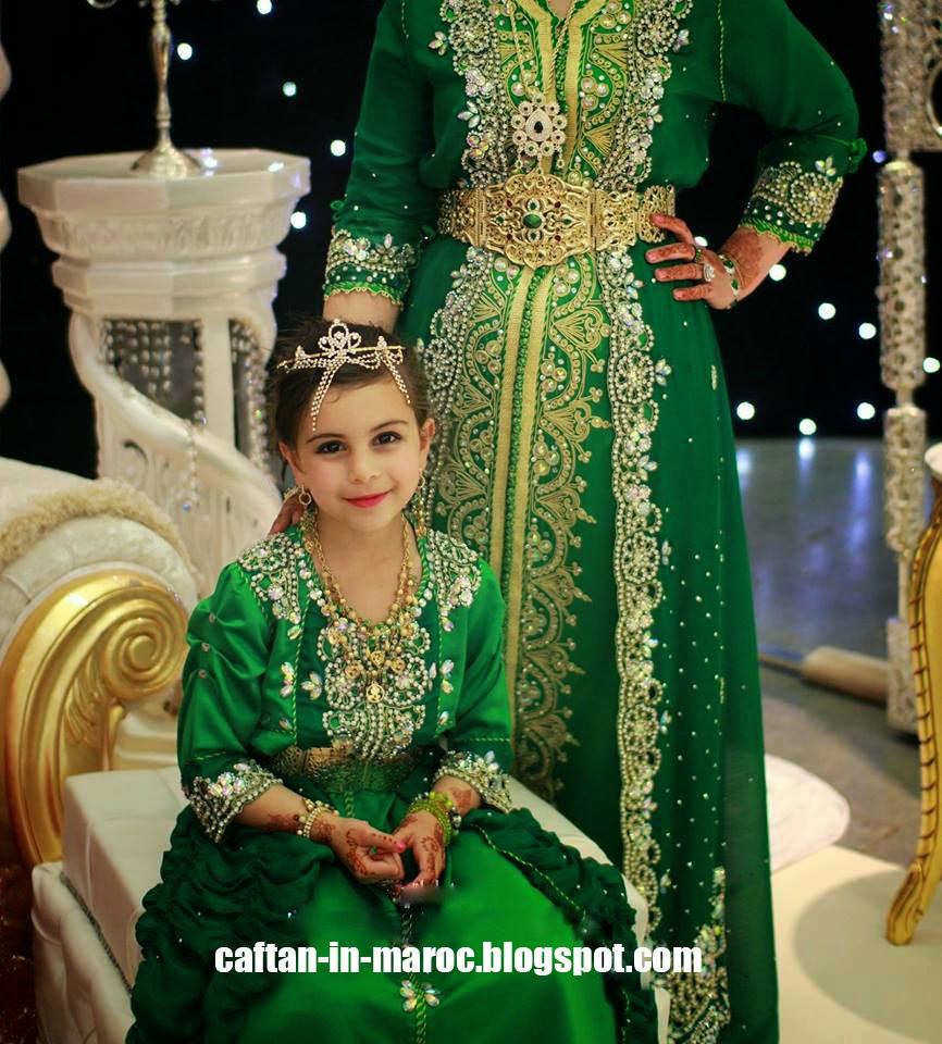 caftan marocain sari