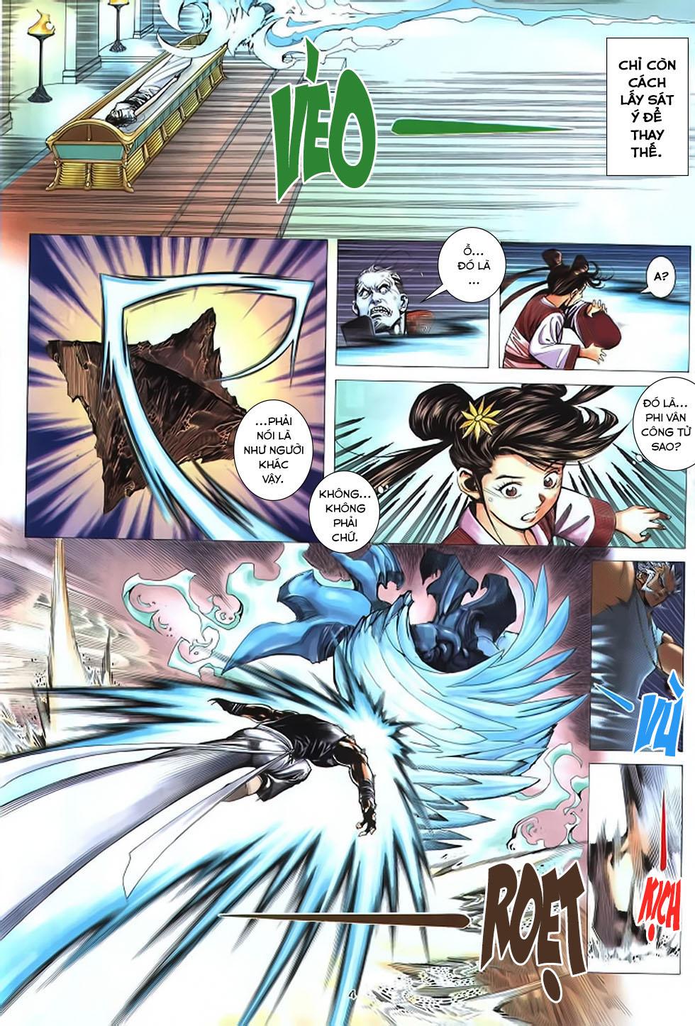 Chiến Thần Ký chap 39 - Trang 5