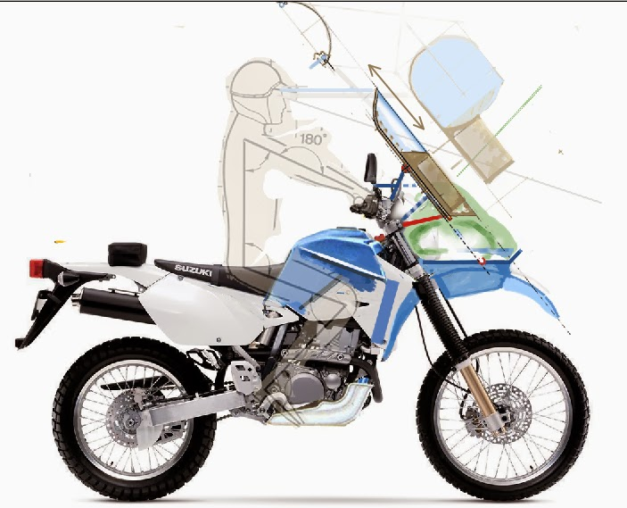 Suzuki Drzsm Windscreen