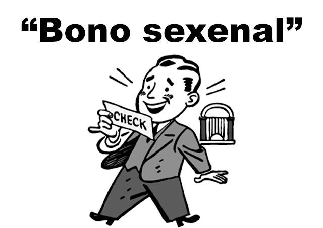 Bono sexenal un privilegio de pocos
