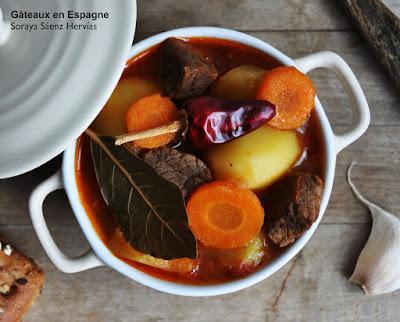 recette ragout espagnol boeuf legumes