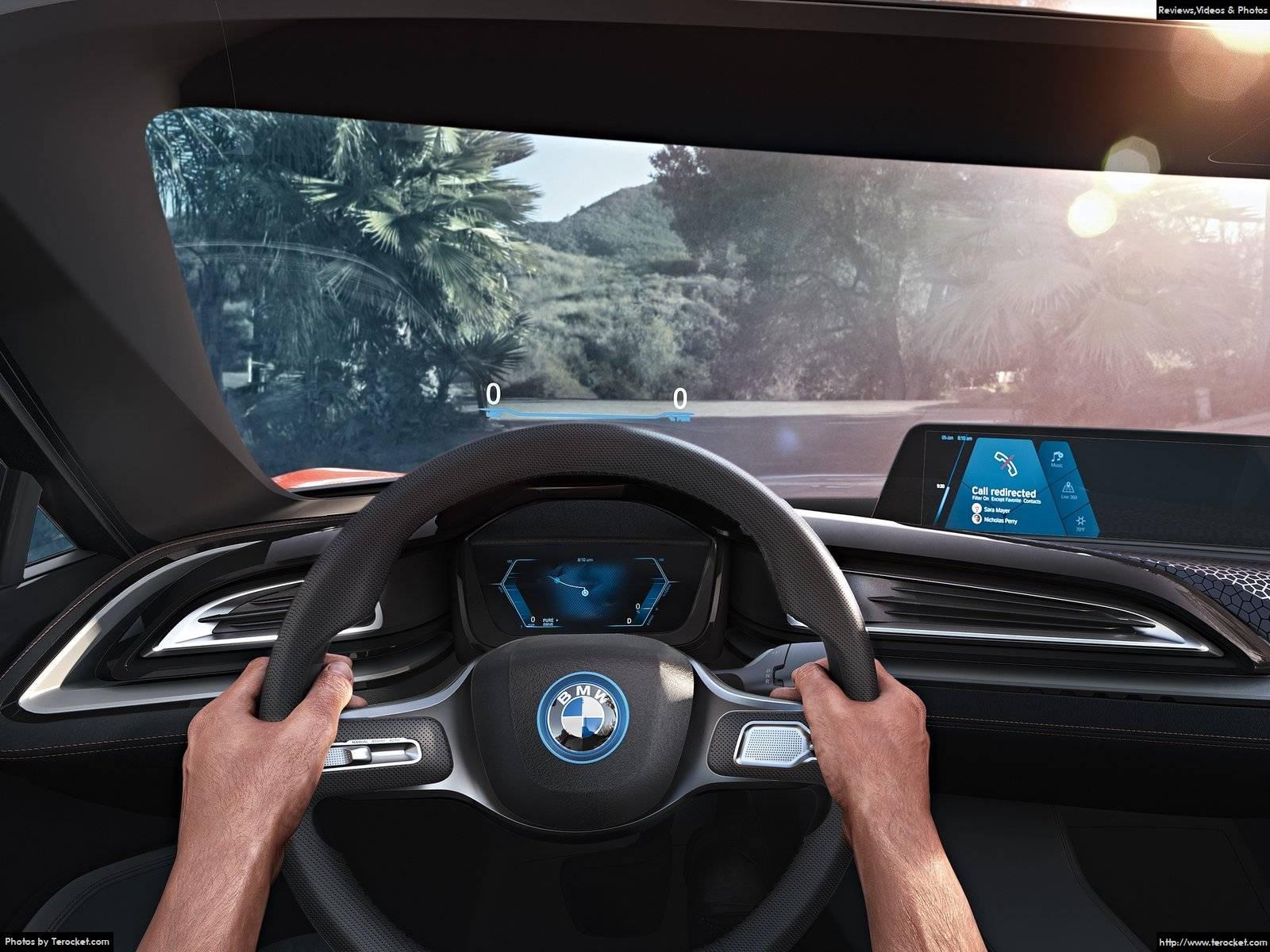 Hình ảnh xe ô tô BMW i Vision Future Interaction Concept 2016 & nội ngoại thất