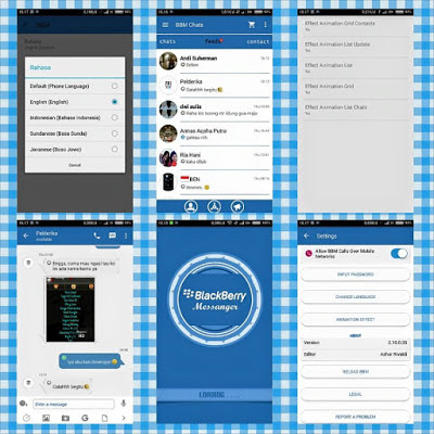 before you lot download a modernistic you lot should know get-go what is the fuel that modernistic Download BBM Mod Themes Mix Blue