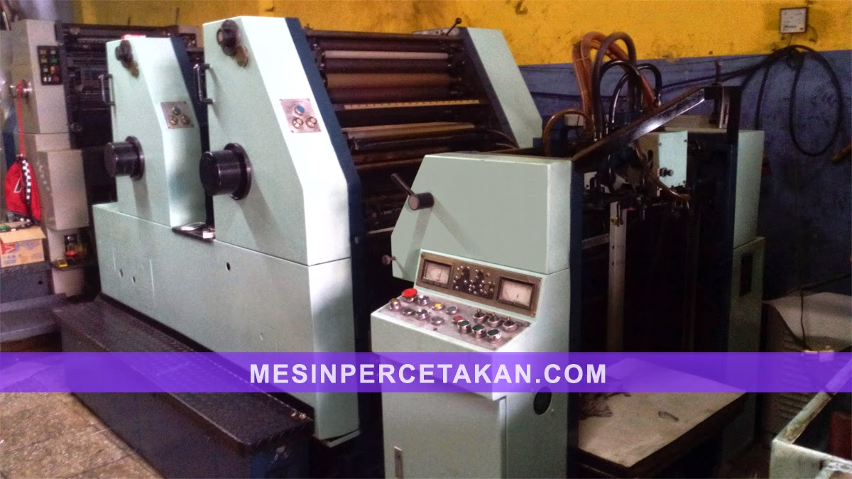 Oliver 58 2 Color printing machine