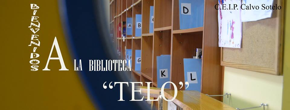 Biblioteca Telo. <br>CEIP José Calvo Sotelo