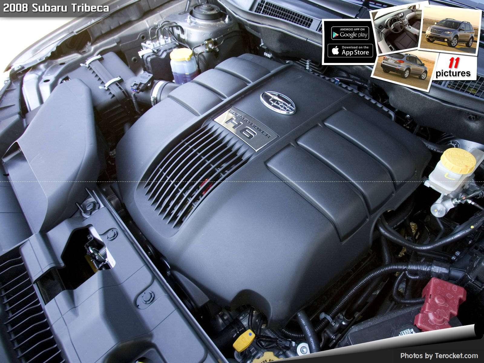 Hình ảnh xe ô tô Subaru Tribeca 2008 & nội ngoại thất