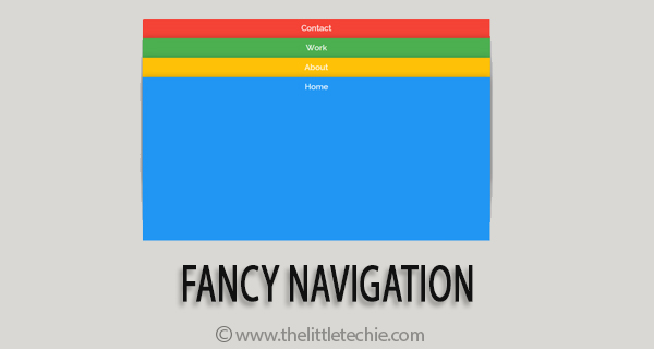 Fancy navigation
