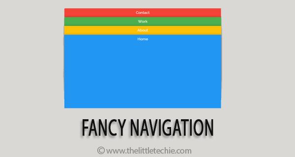 Fancy navigation