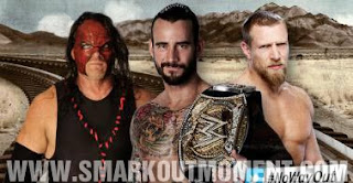 WWE No Way Out 2012 CM Punk Daniel Bryan Kane WWE Championship