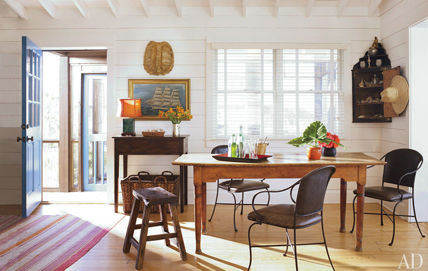 Mix And Chic Home Tour A Beach Bungalow In South Carolina