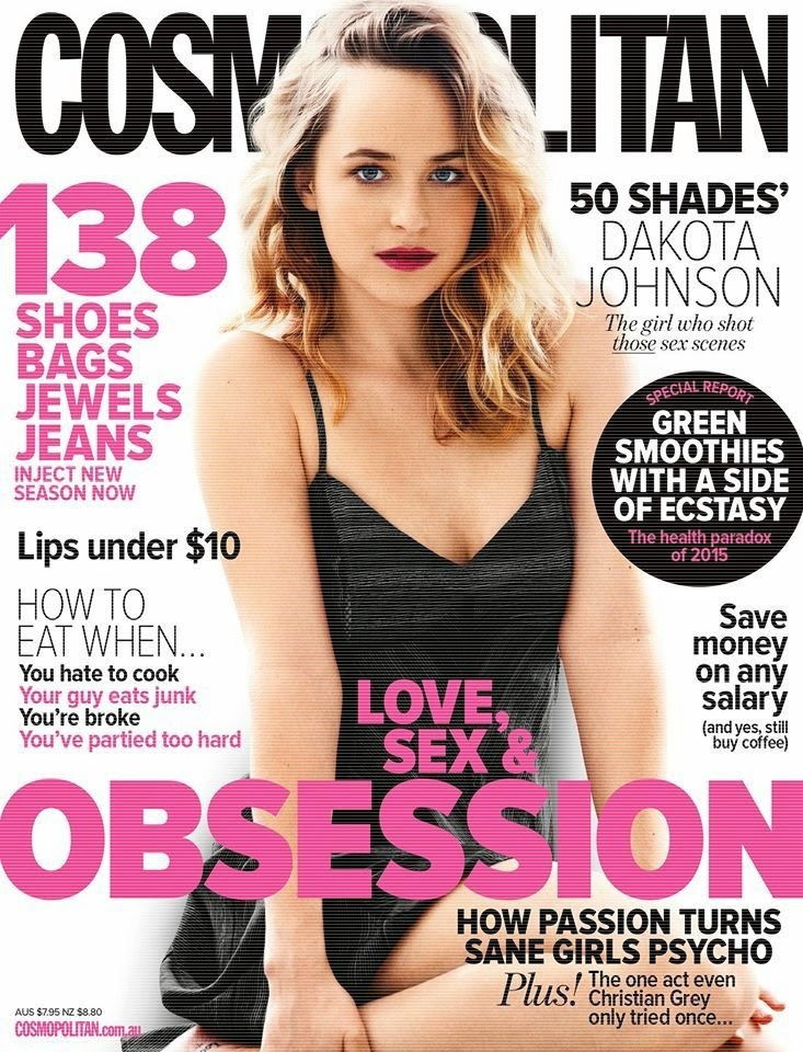 Fashion Model, Actress @ Dakota Johnson for Cosmopolitan Australia April 2015