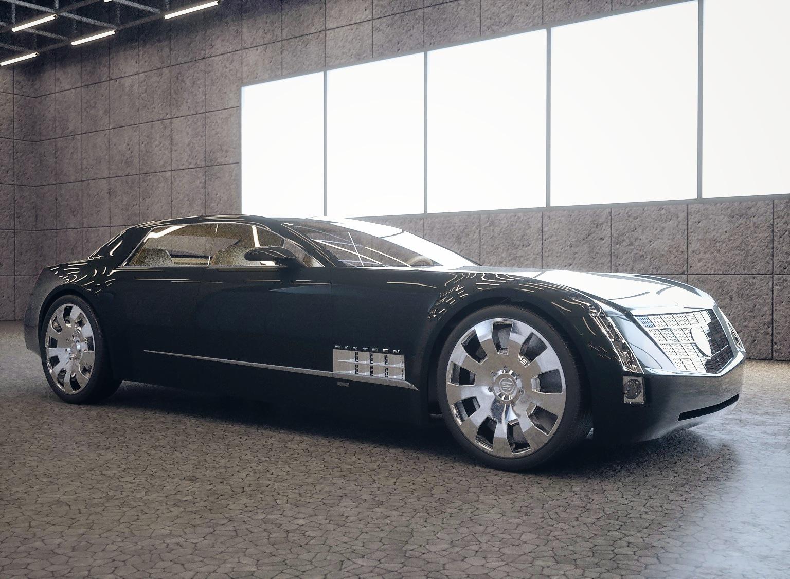 Cadillac Sixteen Concept Luxury Sedan Sandykoufax