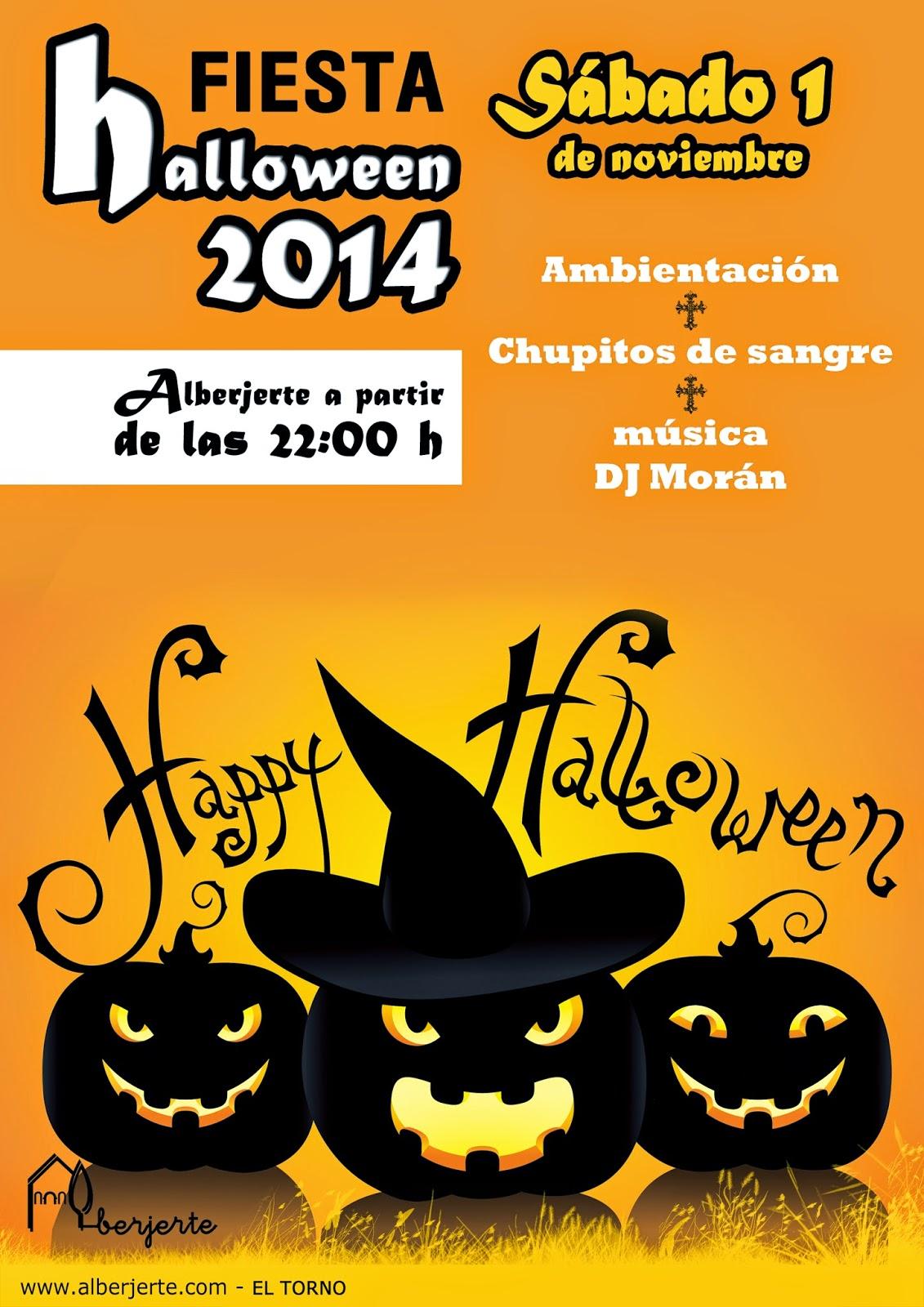 Fiesta de Halloween en el Valle del Jerte