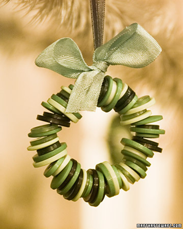 I'm excited to try some of these homemade Christmas ornaments. I like this  one and a lot more on the Martha Stewart website: http://www.marthastewart .com - The Shannon's: Homemade Christmas Ornaments