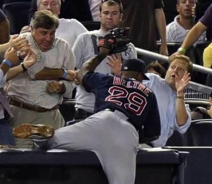 Baseball bloopers gif