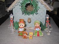 Christmas Scene by Wanda