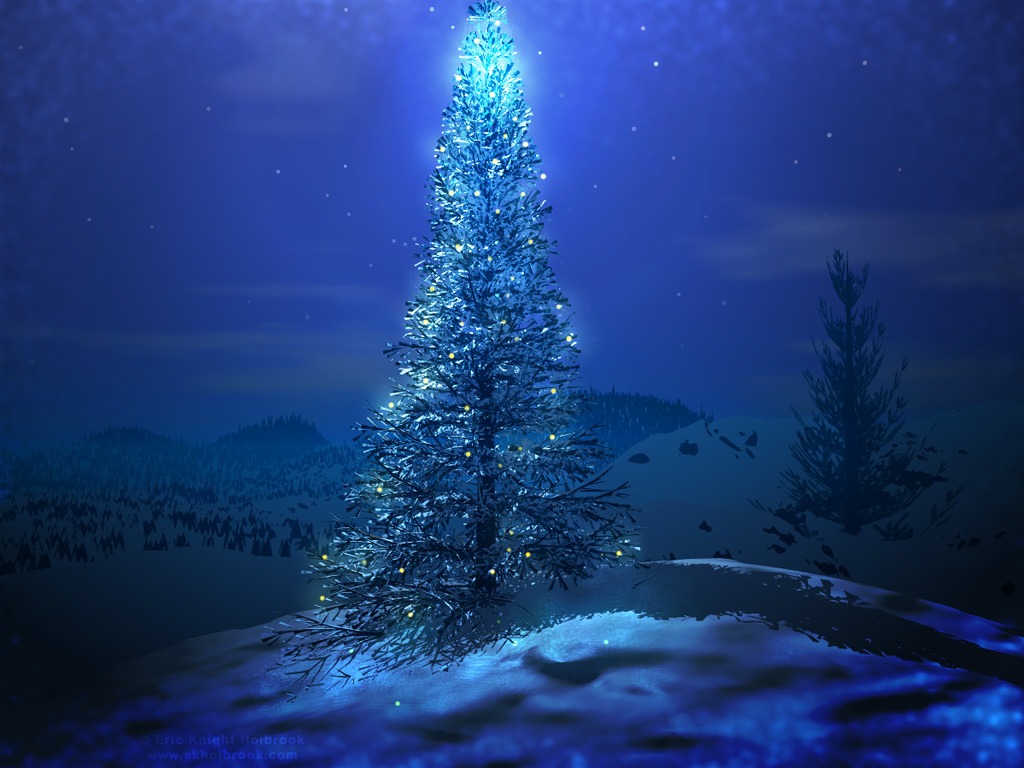 Christmas Tree Wallpaper HD