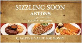 Aston Specialities Resto Tempat Kongkow dan menikmati Steak Lezat di Tangerang Selatan