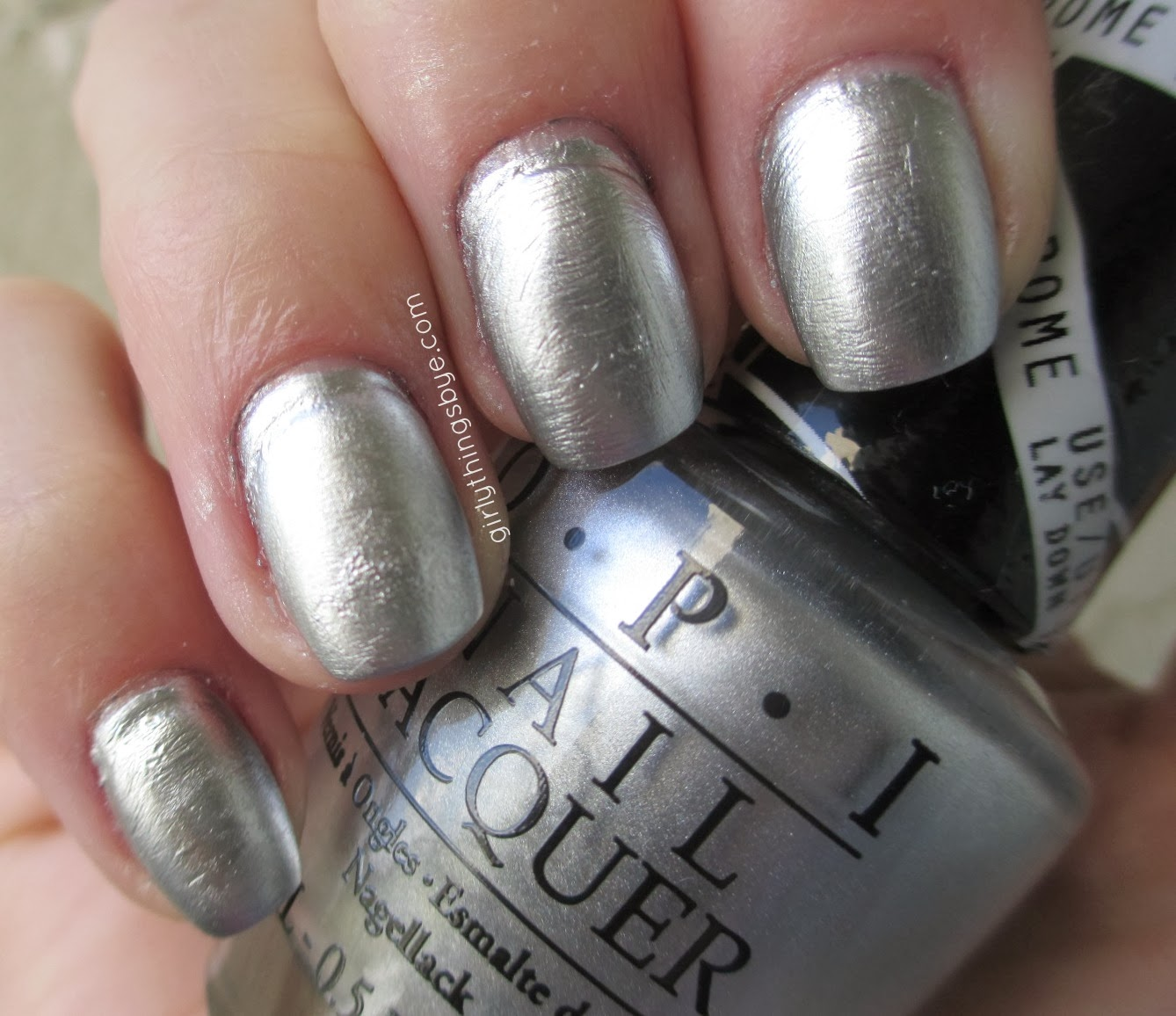 Gwen Stefani for OPI, Push and Shove #nailpolish
