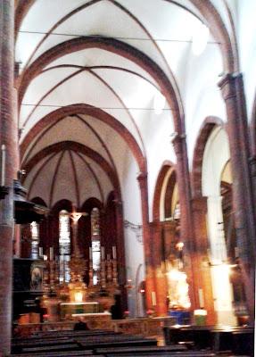 foto interno Chiesa di San Domenico, via Milano, Torino