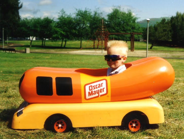 the hot dog hall of fame oscar mayer pedal car coffee. Black Bedroom Furniture Sets. Home Design Ideas