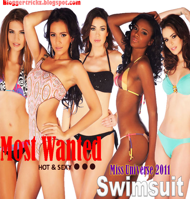 Miss Universe 2011 - Swimsuit Photos Contestants