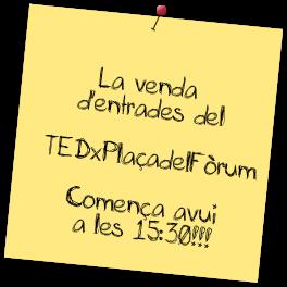 TEDxPlaçadelFòrum, el primer TEDx de la Ciutat de Tarragona