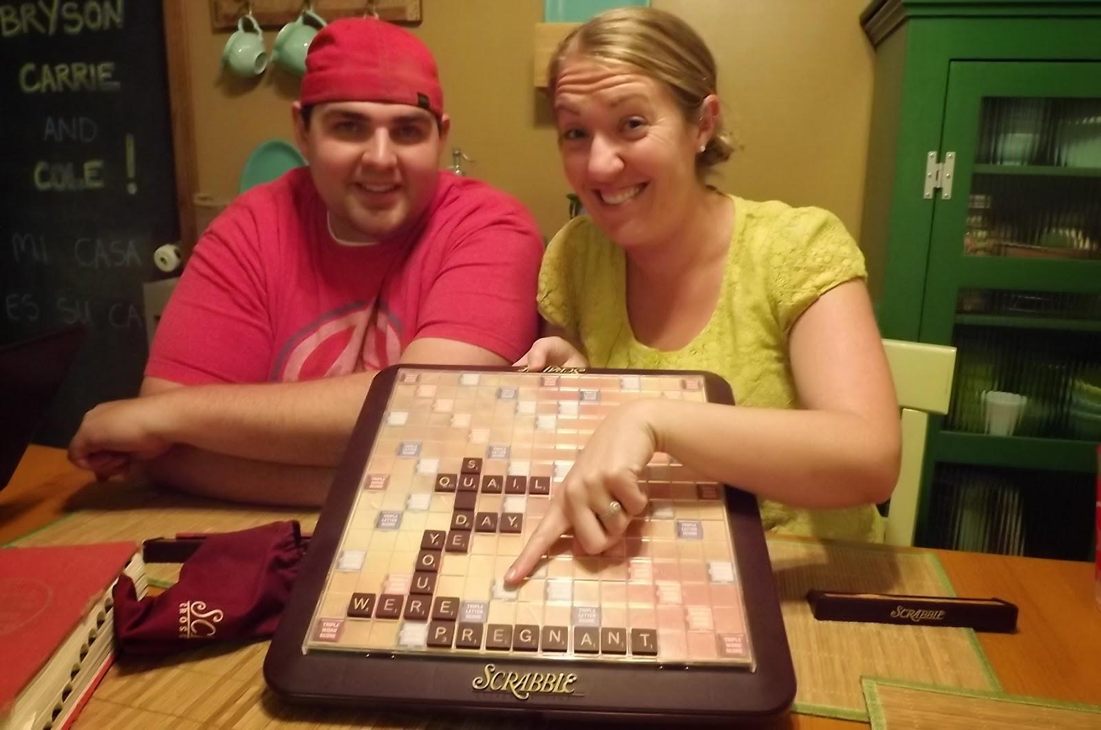 YELLOW house December 2013 – Scrabble Baby Announcement