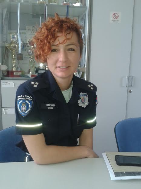 SAVKA ĐORĐIĆ KOMANDIR POLICIJE GOVORILA MATURANTIMA
