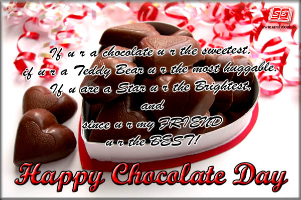 Top # 15+ Happy Chocolate Day SMS Wishes 2016: Valentines day Week
