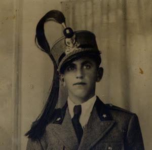 Mio Padre nel 1936 a Pordenone