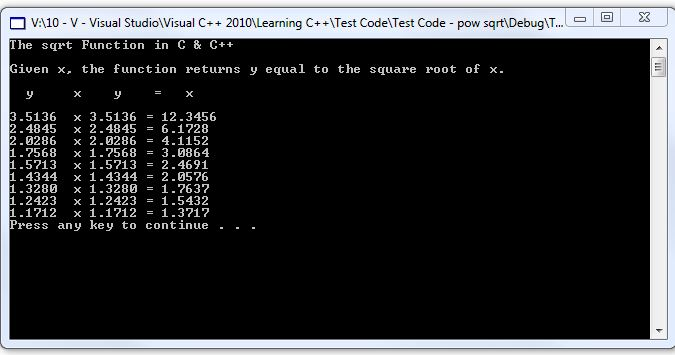 how to find c root