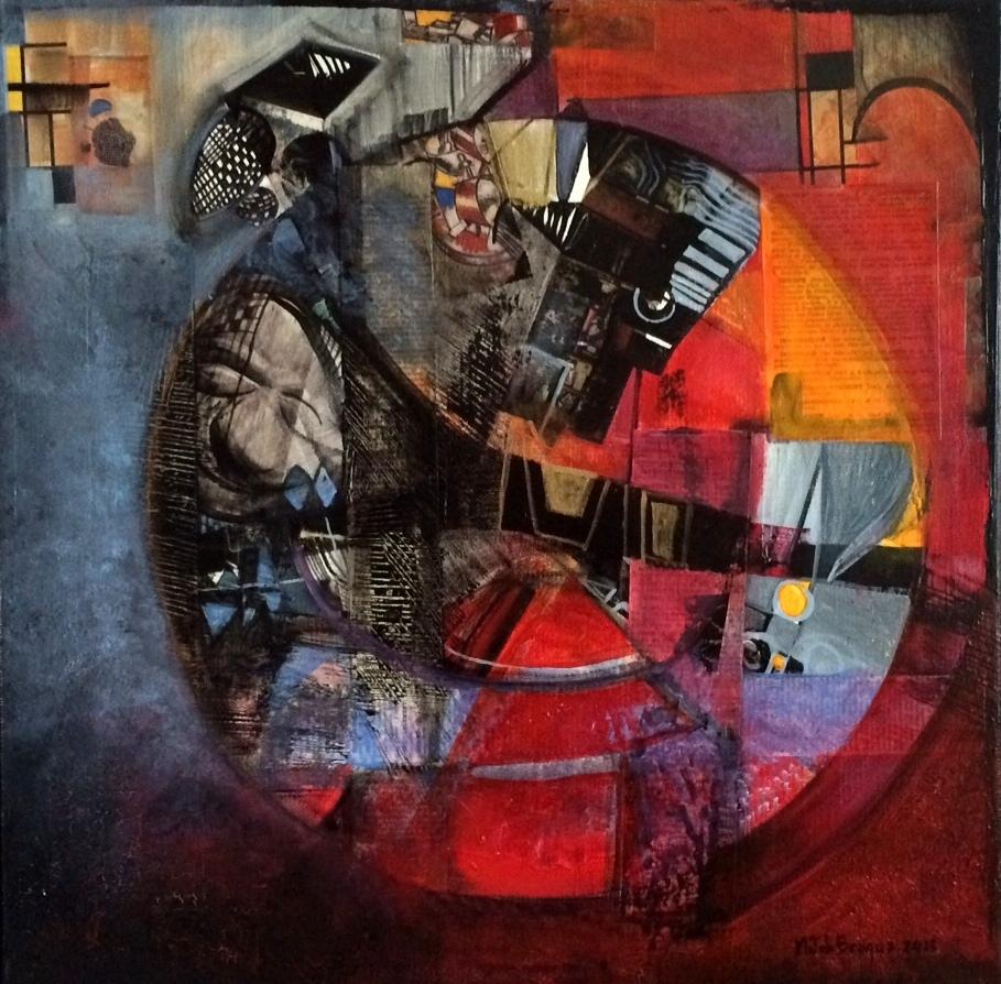 Poivre et piment - 40 x 40 cm - 2015