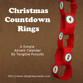 Christmas Countdown Rings