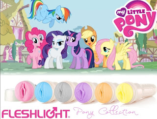 Fleslight in der My little Pony Kollektion