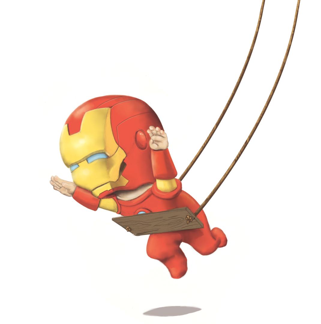 Toast: SLC Comic Con - Super hero babies