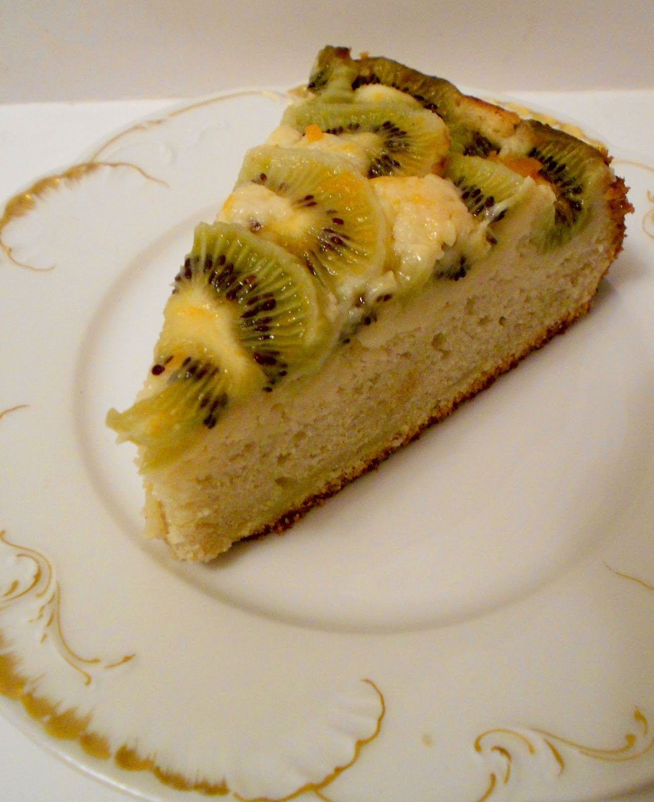 ... *: Delicious! Baking with California Grown Kiwi~Kiwi Tea Cake Recipe