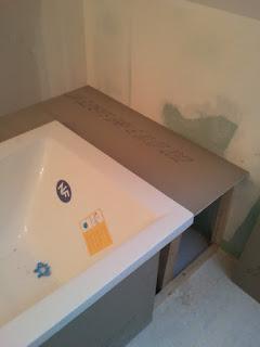 coffrage baignoire carrelée