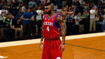 NBA 2K13 Dorell Wright Hairstyle