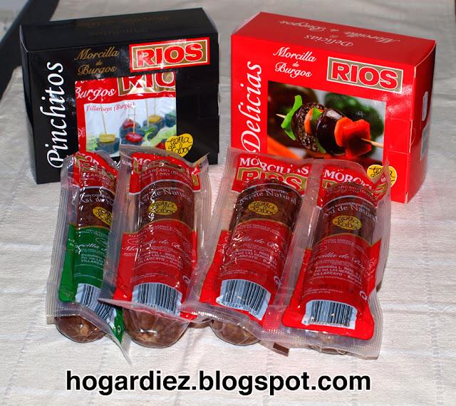 Lote de productos Rios
