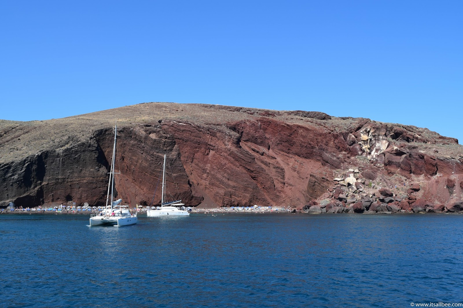 Sailing Santorini The Best Catamaran Tours In Santorini