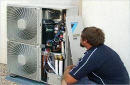 صيانة أنظمة التبريد والتكييف
