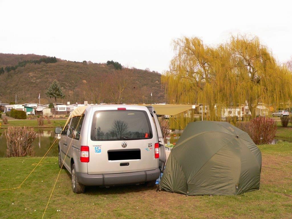 Camping Rhein Remagen Goldene Meile Frühling Ostern Auto Erpeler Ley