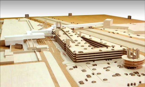 First cross border airport bridge skyscrapercity that will allow passengers to walk across between the united states and mexico avoiding lengthy lines at the san ysidro and otay mesa ports of entry sciox Gallery